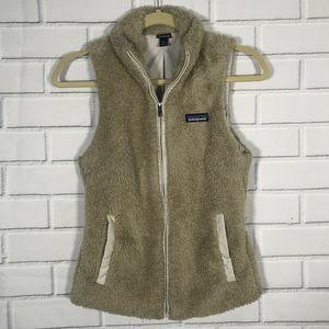 Patagonia Los Gatos Vest El Cap Khaki Furry XS